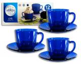 Набор для чая Duralex Saphir 12 предметов на 6 персон