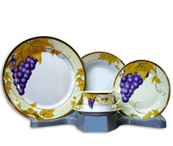 Столовый набор Golden Grapes 30 предметов на 6 персон