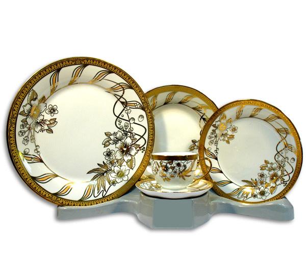 Столовый набор Elina Golden Bough 30 предметов на 6 персон
