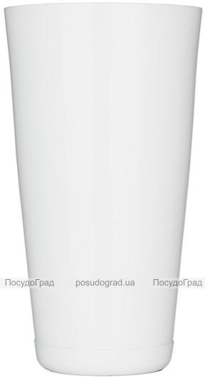 Шейкер BARPRO 750мл с утяжелителем, белого цвета