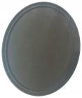 Поднос официанта Anti-Slip овальный 62х52см с антискользящим покрытием
