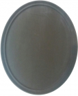 Поднос официанта Anti-Slip овальный 68х56см с антискользящим покрытием