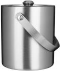 Ведро для льда Термо BARPRO 1л с вакуумной колбой и крышкой