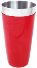 """Шейкер BARPRO """"Бостон"""" (Boston) 750мл с антискользящим покрытием, красный"""