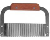 Шпатель-різак Empire карбовочний 185мм з дерев'яною ручкою