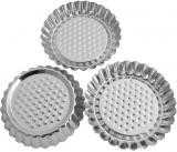 Набор 3 формы Empire для тарталеток (корзинки) Ø90х15мм