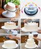 Поворотный стенд Empire Ø28х15см (с изменяющимся наклоном) для декорации торта