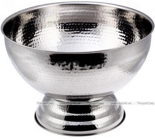 Чаша для пунша Empire HAMMERED 9300мл из нержавеющей стали