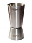 Джиггер Hauser 40мл/20мл. Мірний стакан з нержавіючої сталі