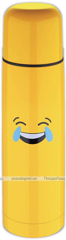 Термос Emoticonworld Laugh 750мл, нержавеющая сталь