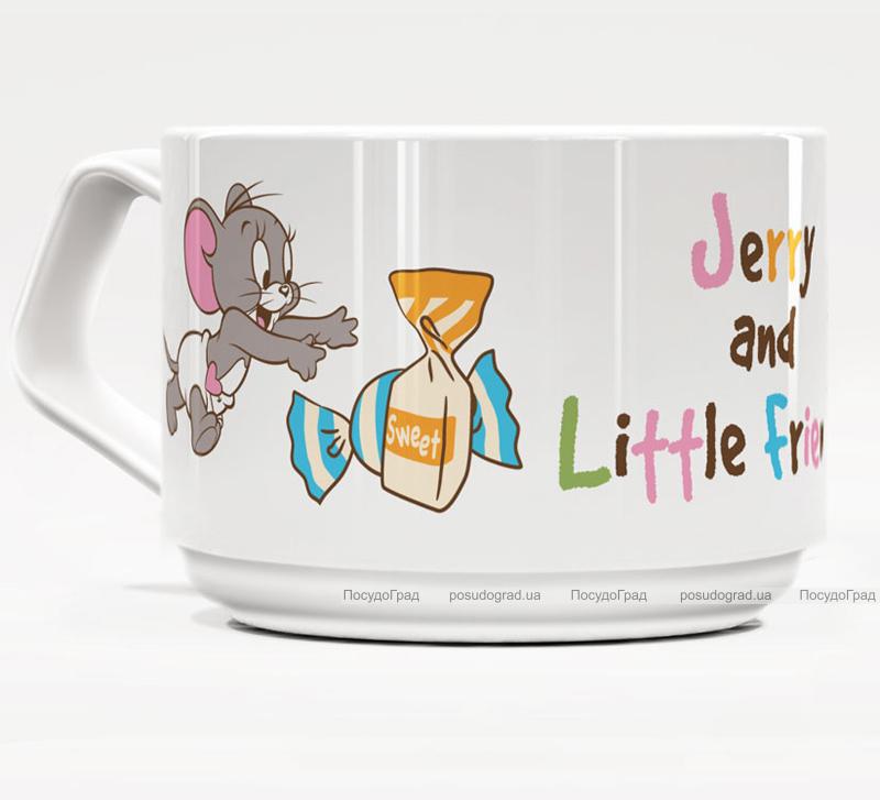 Фарфоровая кружка Warner Bros. Джерри и Друзья-49 160мл