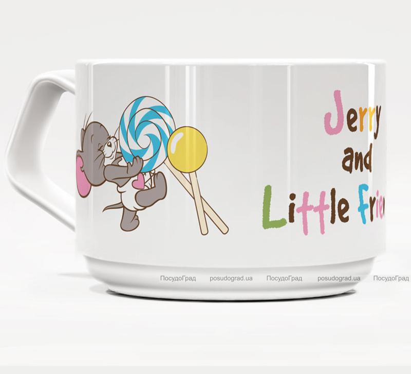 Фарфоровая кружка Warner Bros. Джерри и Друзья-50 160мл