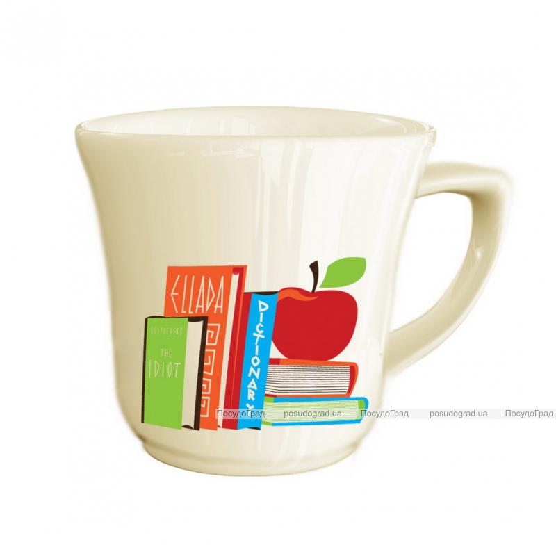 """Детская чашка """"Книжки"""" 180мл из облегченной керамики"""