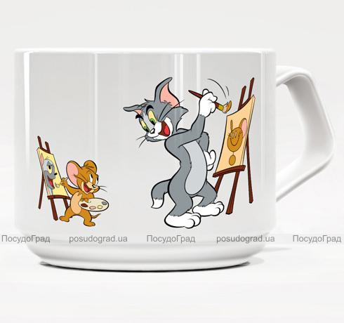 Фарфоровая кружка Warner Bros. Том и Джерри-07 220мл