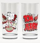 Стакан скляний WB Том і Джеррі Трапеза-28 280мл