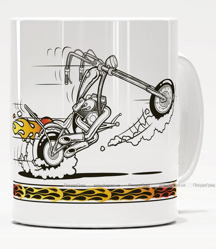 Фарфоровая кружка Warner Bros. Луни Моторз-18 350мл