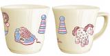 """Детская чашка """"Игрушки"""" 180мл из облегченной керамики"""