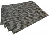 Набор 4 сервировочных коврика Fissman Cyprian-646 прямоугольные 45х30см, пвх