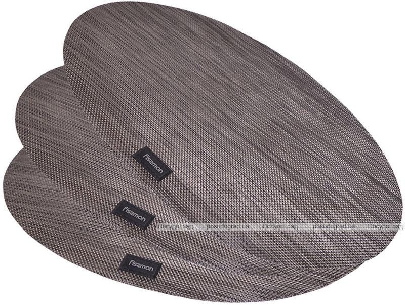 Набор 4 сервировочных коврика Fissman Cyprian-671 овал 45х30см, пвх