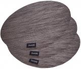 Набір 4 сервірувальних килимка Fissman Cyprian-672 Ø36см, пвх