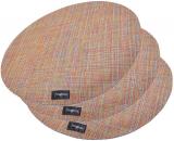 Набір 4 сервірувальних килимка Fissman Cyprian-674 Ø36см, пвх