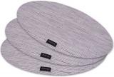 Набір 4 сервірувальних килимка Fissman Cyprian-677 овал 45х30см, пвх