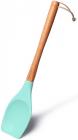 Лопатка силиконовая Fissman 32см с деревянной ручкой