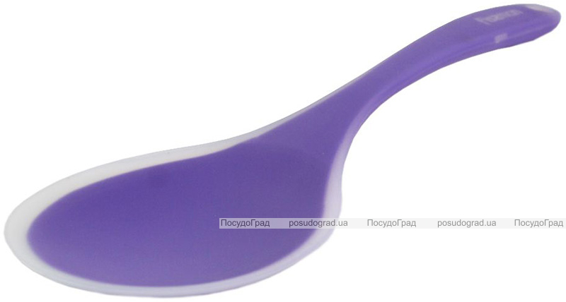 Ложка сервировочная (поварская) Fissman Mauris 34см нейлон+силикон, плоская