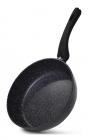 Сковорода-сотейник Fissman Fiore Ø24см індукційна з мармуровим антипригарним покриттям
