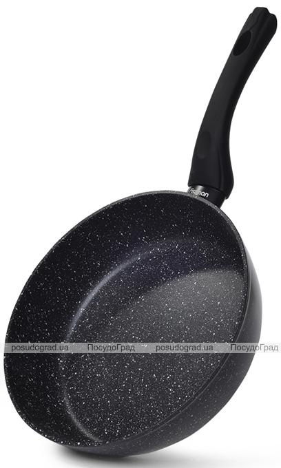 Сковорода-сотейник Fissman Fiore Ø28см індукційна з мармуровим антипригарним покриттям