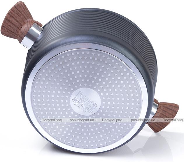 Кастрюля Fissman Diamond Grey 2.6л алюминий с антипригарным покрытием