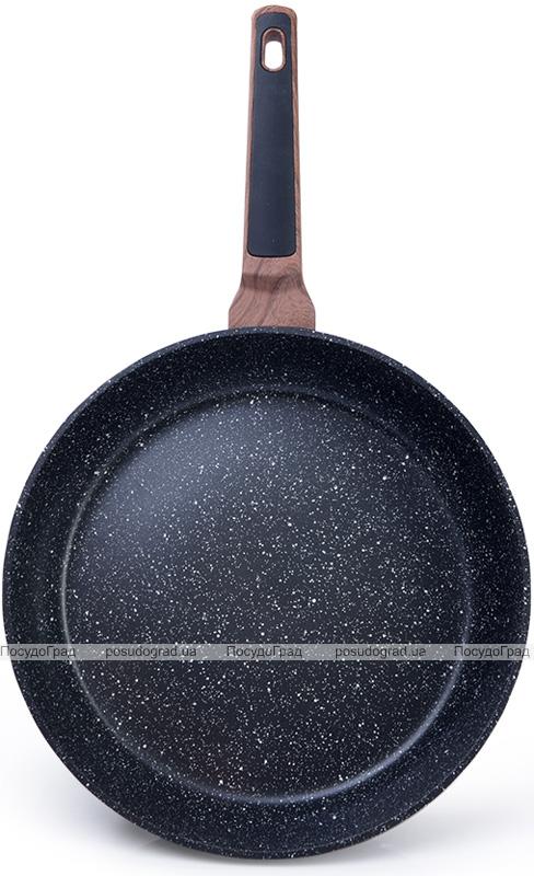 Сковорода Fissman Diamond Grey Ø26см с 5-слойным антипригарным покрытием