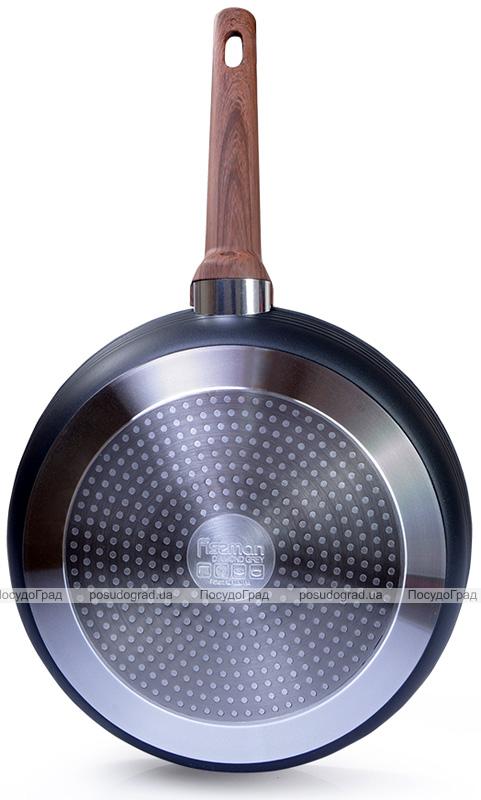 Сковорода Fissman Diamond Grey Ø26см з 5-шаровим антипригарним покриттям