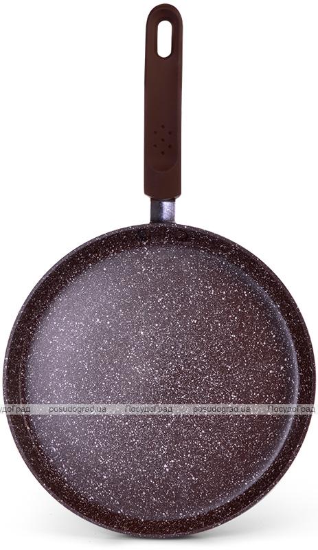 Сковорода для млинців Fissman Smoky Stone Ø20см з антипригарним покриттям