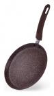 Сковорода блинная Fissman Smoky Stone Ø24см с антипригарным покрытием
