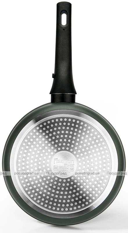 Сковорода-сотейник Fissman Brilliant Ø28см с антипригарным покрытием XylanPlus