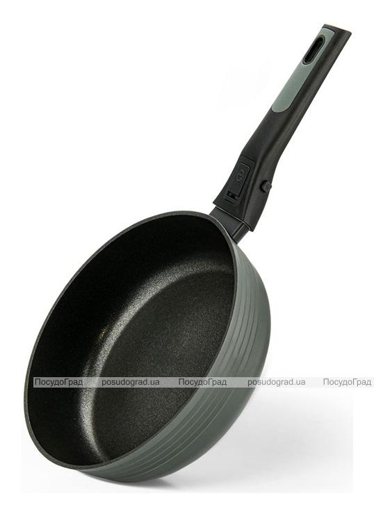 Сковорода-сотейник Fissman Brilliant Ø24см з антипригарним покриттям XylanPlus