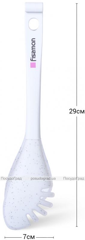 Щипцы-ложки кулинарные Fissman Bianca 29см нейлон+силикон