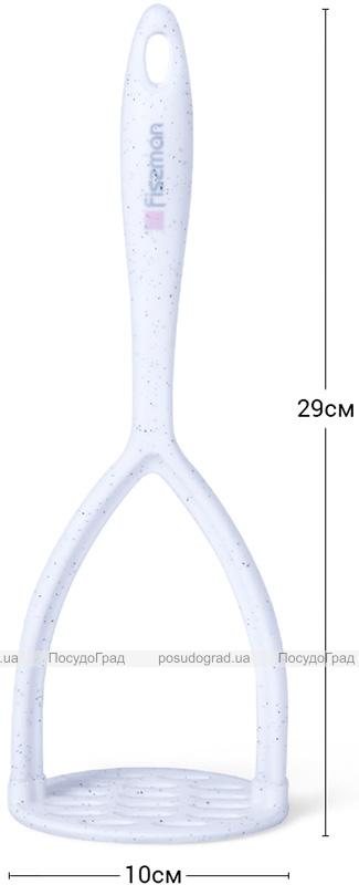 Картоплем'ялка Fissman Bianca 29см нейлон+силікон