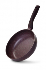 Сковорода-сотейник Fissman Mosses Stone Ø20см с антипригарным покрытием TouchStone (каменная крошка)