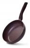 Сковорода-сотейник Fissman Mosses Stone Ø24см с антипригарным покрытием TouchStone (каменная крошка)
