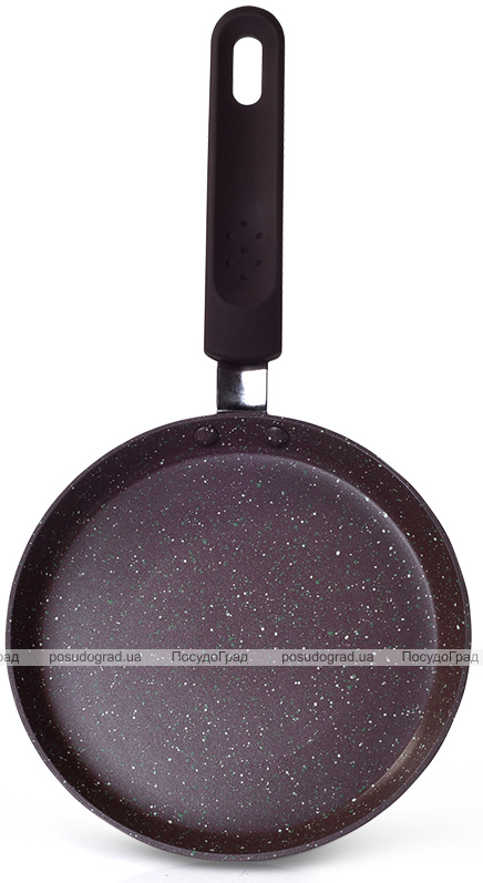 Сковорода блинная Fissman Mosses Stone Ø18см с антипригарным покрытием