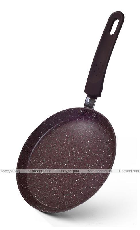 Сковорода для млинців Fissman Mosses Stone Ø18см з антипригарним покриттям