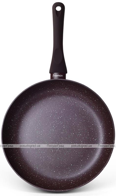 Сковорода Fissman Mosses Stone Ø24см с антипригарным покрытием TouchStone (каменная крошка)