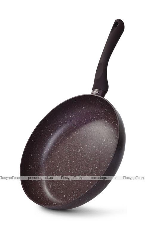 Сковорода Fissman Mosses Stone Ø20см з антипригарним покриттям TouchStone (кам'яна крихта)
