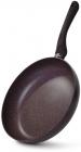 Сковорода Fissman Mosses Stone Ø28см с антипригарным покрытием TouchStone (каменная крошка)
