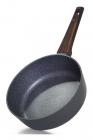 Сковорода-сотейник Fissman Capella Ø24см з антипригарним покриттям TiPro (титан)