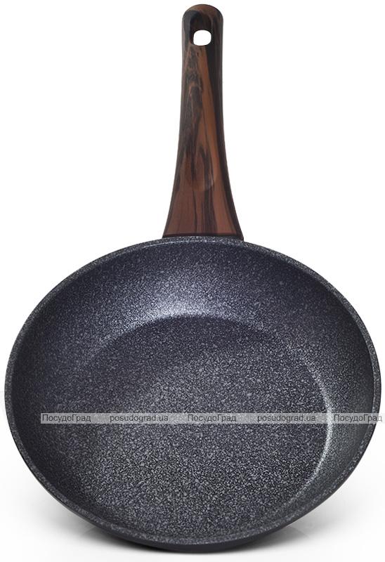 Сковорода Fissman Capella Ø20см с антипригарным покрытием TiPro (титан)