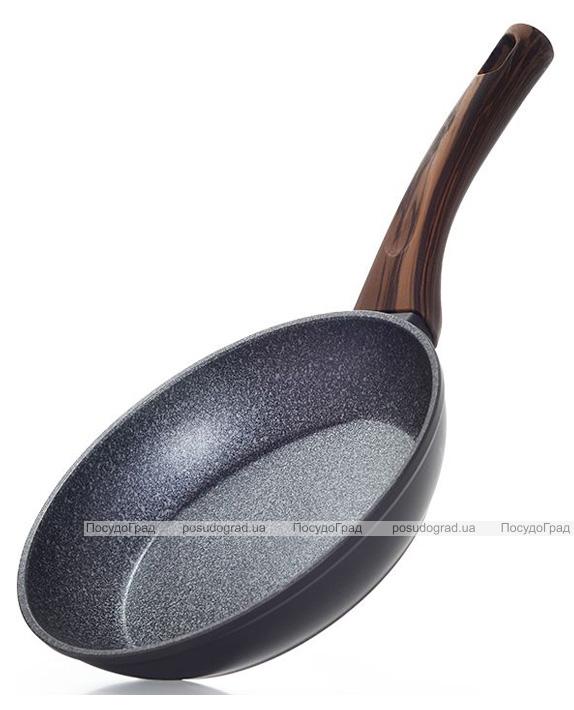 Сковорода Fissman Capella Ø26см с антипригарным покрытием TiPro (титан)