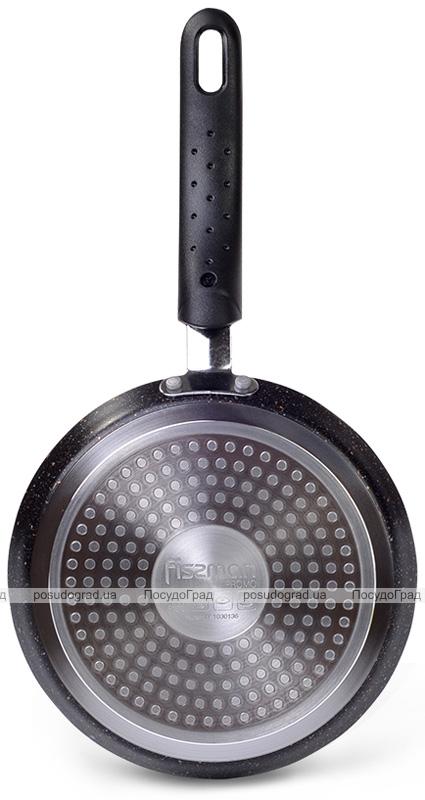 Сковорода блинная Fissman Promo Ø18см с антипригарным покрытием TouchStone (каменная крошка)